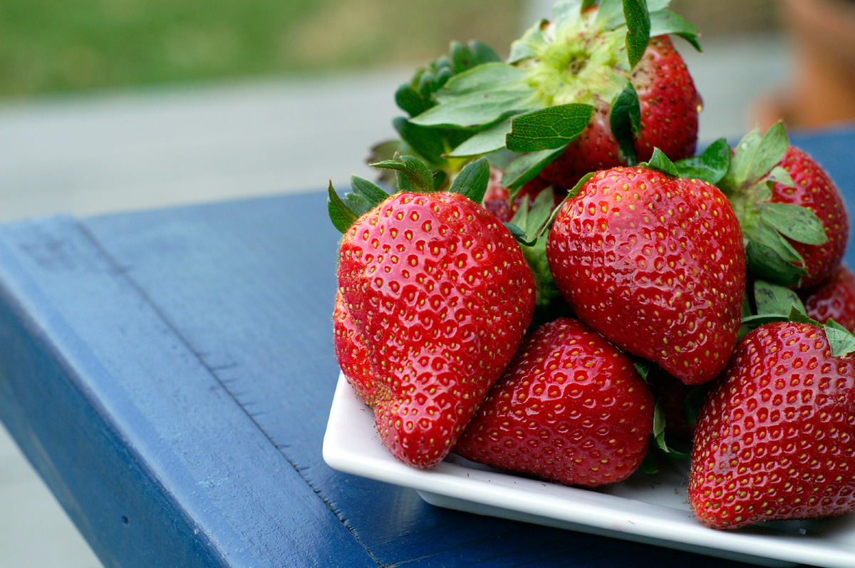 Fresh Strawberries Ready for Enjoyment