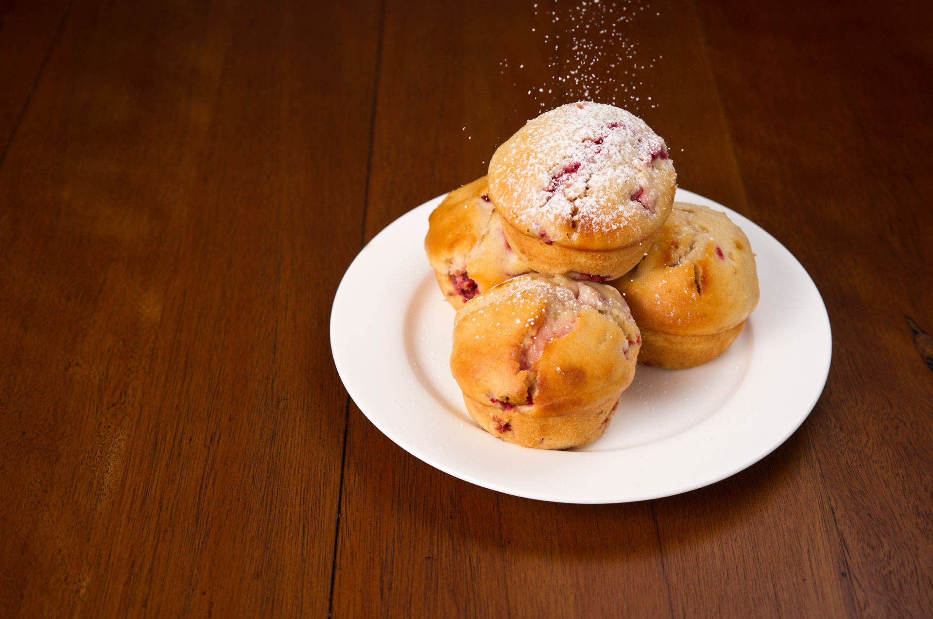 Florida Strawberry Muffins