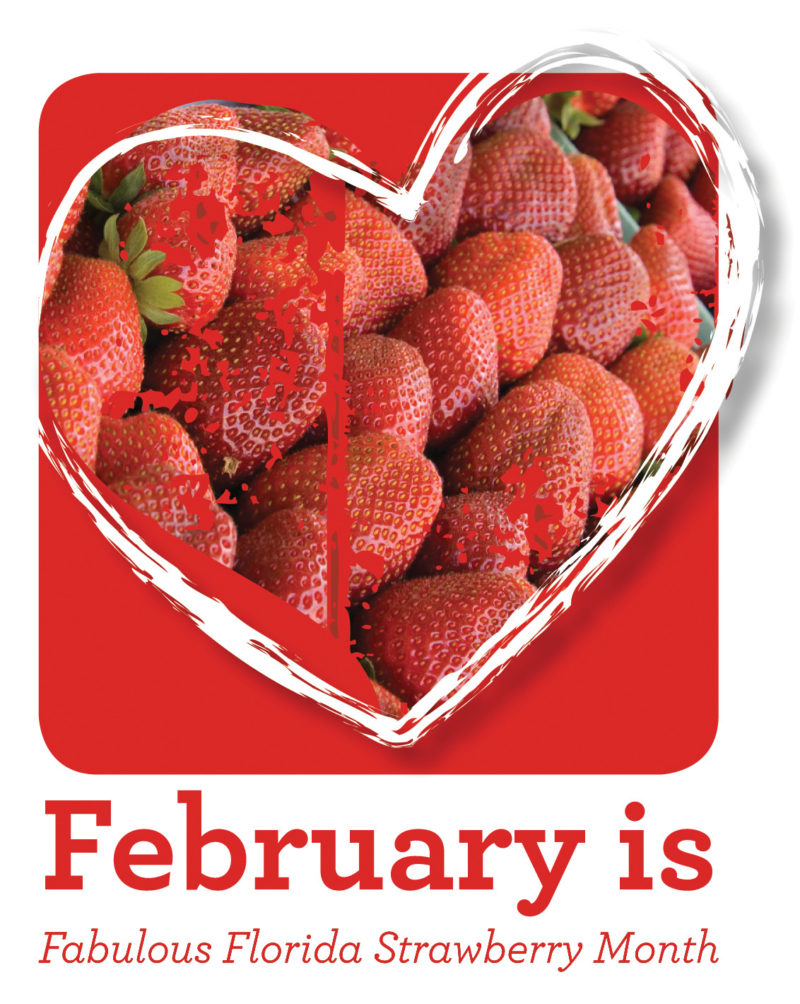 Strawberry Month is February