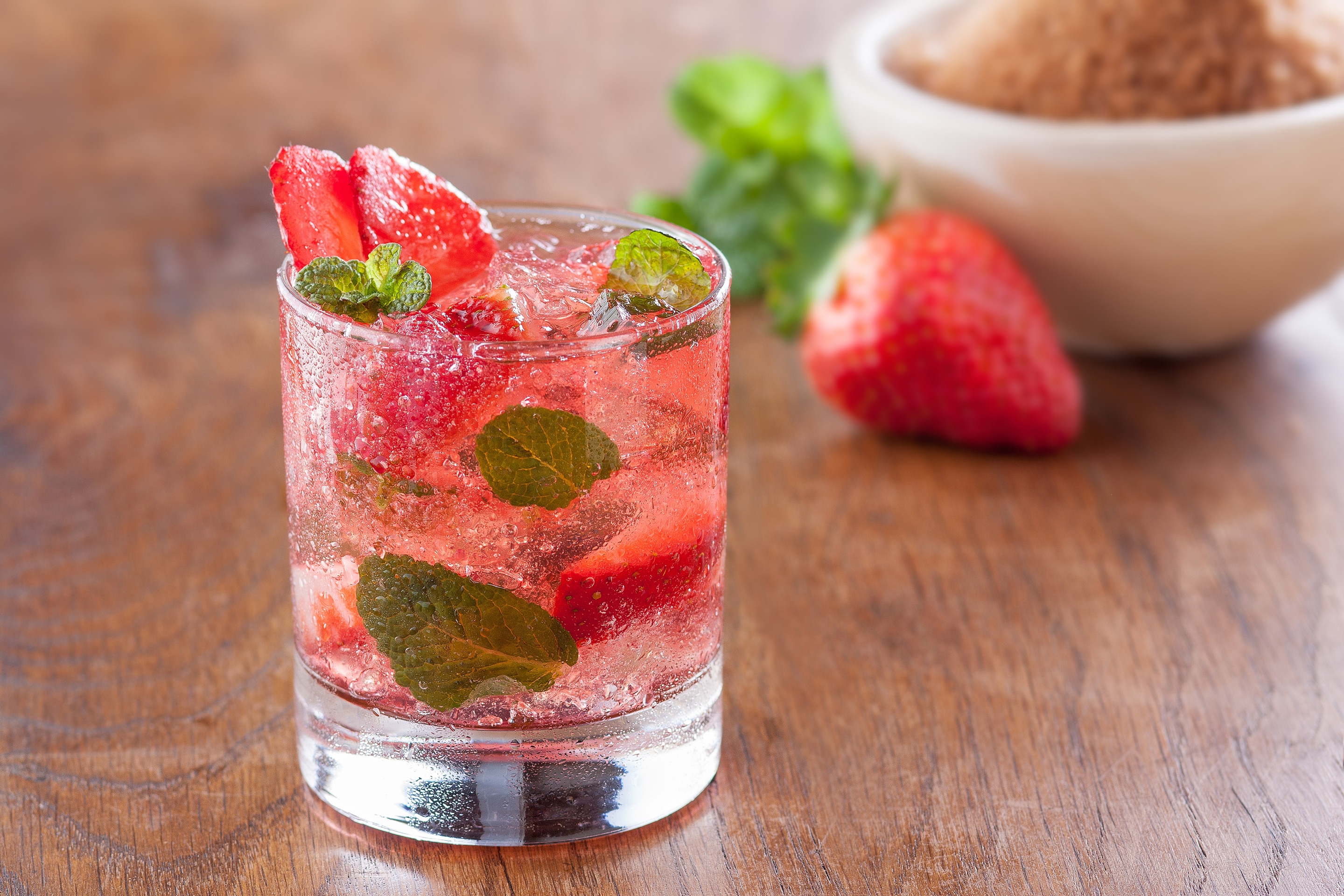World's Best Strawberry Mojito Recipe from the Florida Strawberry Growers Association