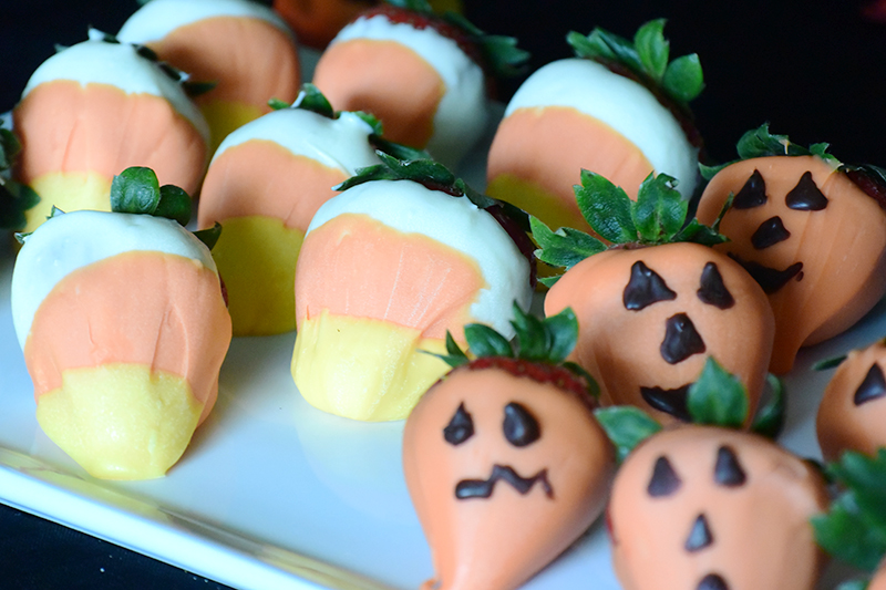 Candy Corn Strawberries