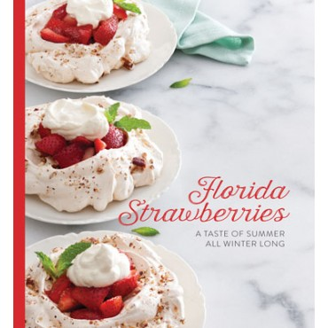 Florida Strawberries cookbook cover
