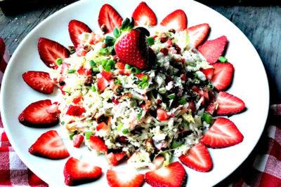 Strawberry Coleslaw