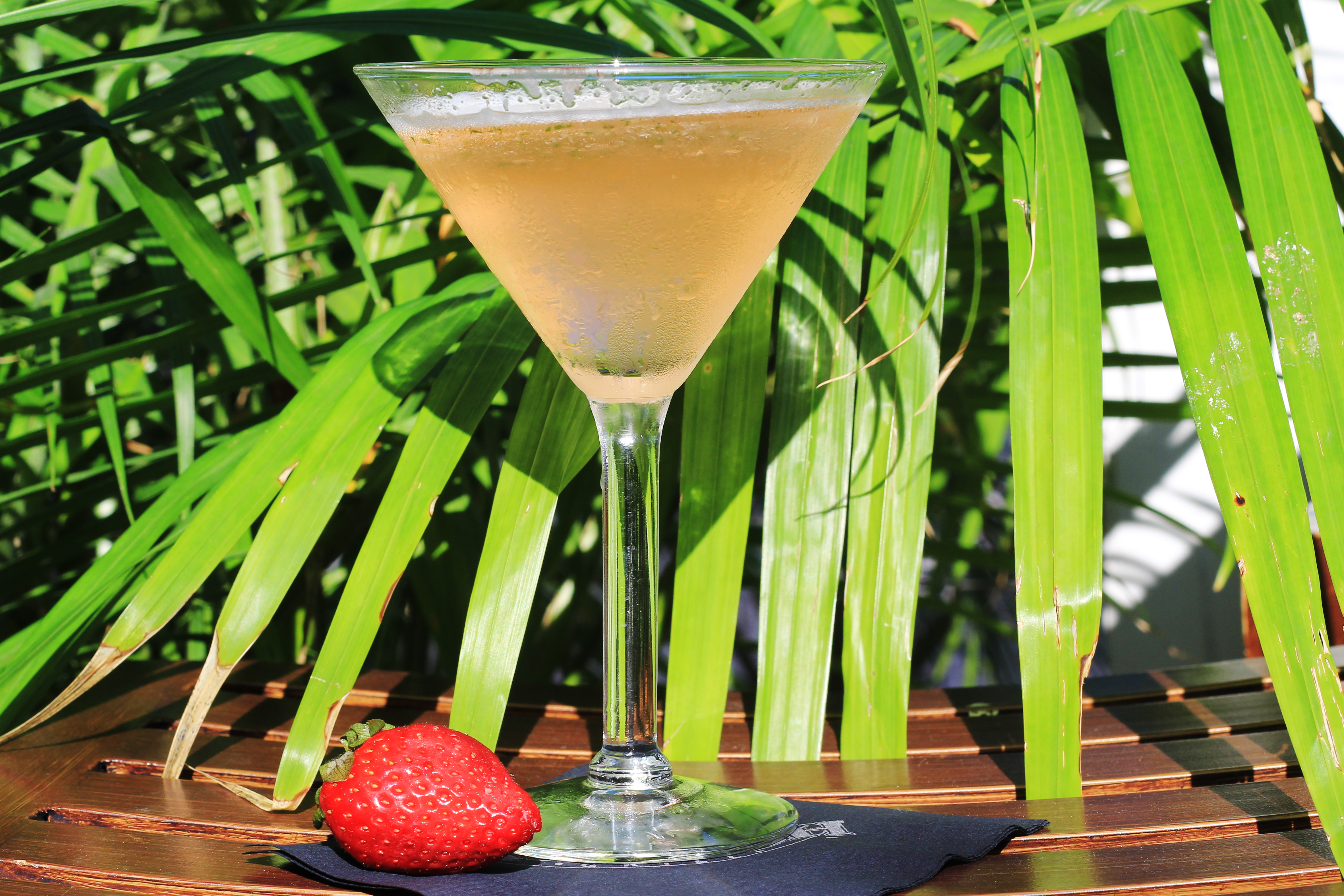 Strawberry Mojito Martini