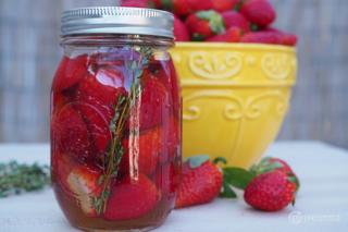 Pickled Strawberry Recipe by GO Epicurista