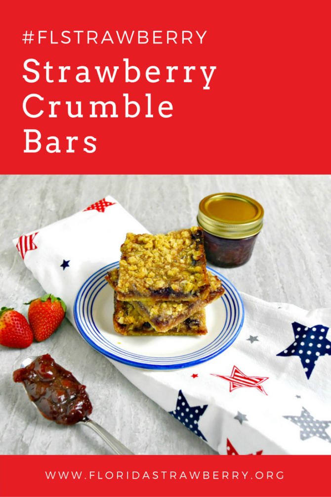 Strawberry Crumble Bars by A Kitchen Hoor's Adventure