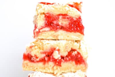 Strawberry Oatmeal Bars by Desserts Required