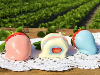 Gender Reveal Chocolate Covered Strawberries